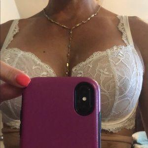 Multi-colored stone necklace